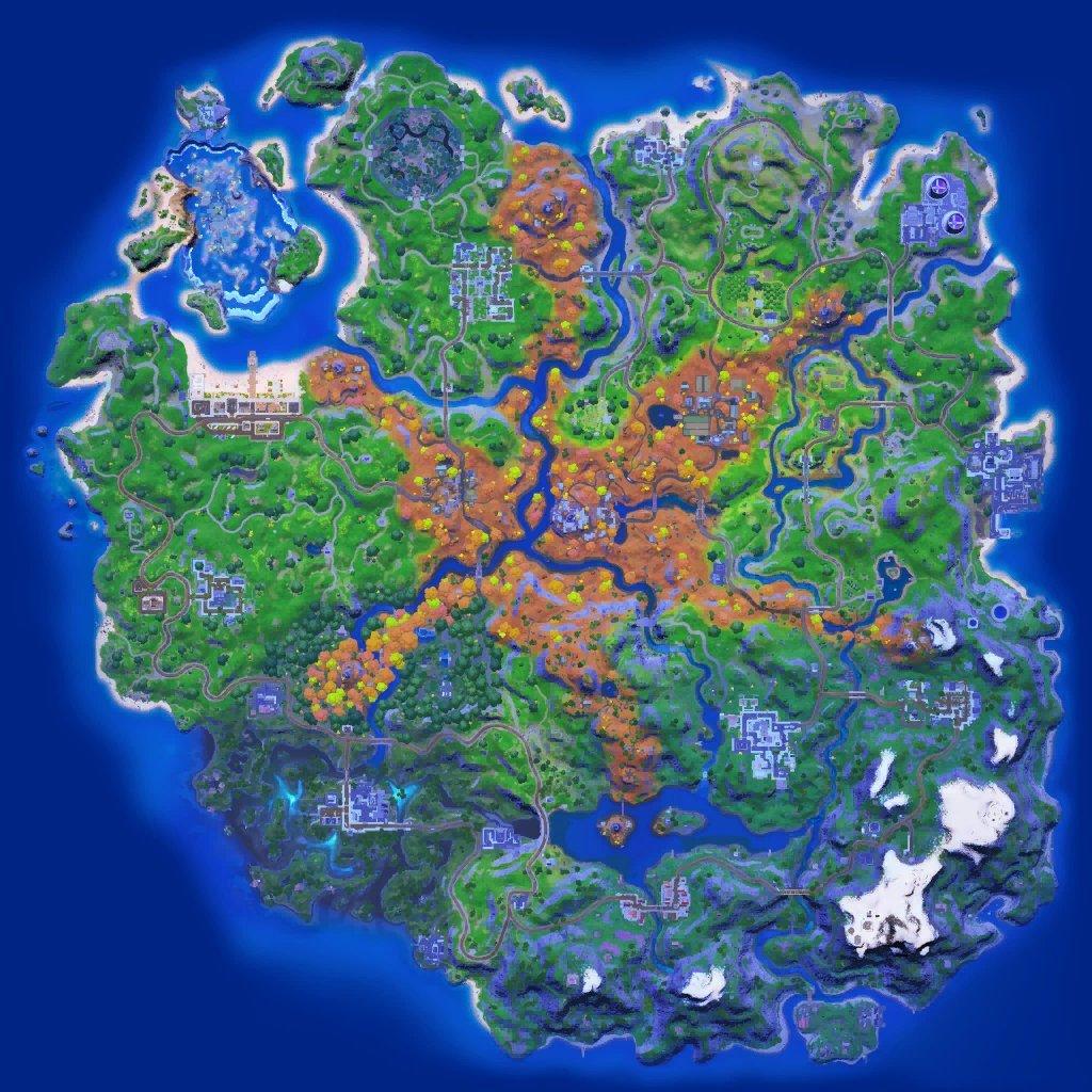 nuevo mapa de Fortnite