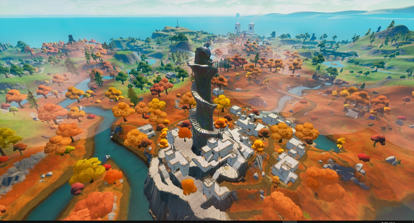 La nueva ciudad de Fortnite