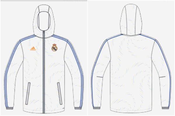 Chándal del Real Madrid para la temporada 2021/22.