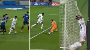 Carrerón de 70 metros de Vinícius y falla este gol cantado: ¿la mejor jugada de la Champions?