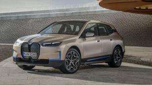 El BMW iX llegará a finales de este año.