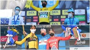 Izagirre y Landa, en los podios de París Niza y Tirreno Adriático