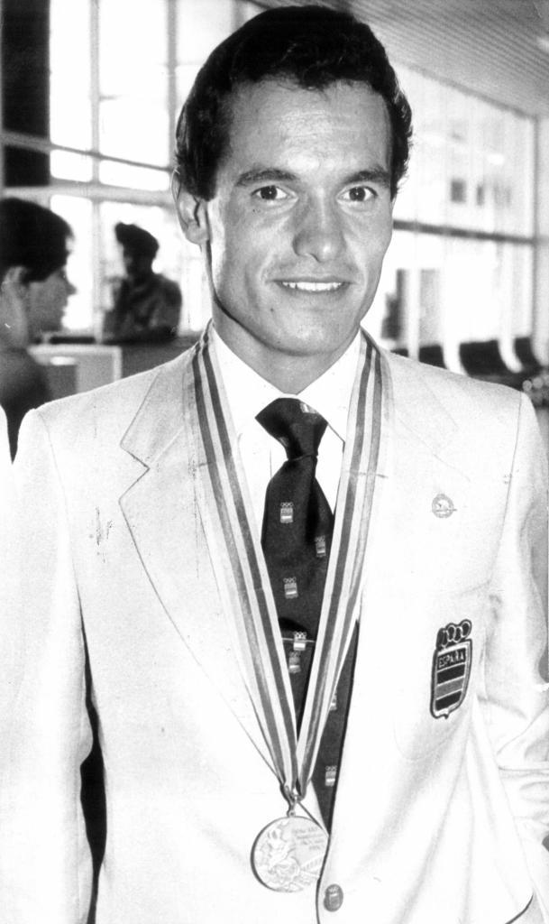 Jordi Llopart, con su medalla