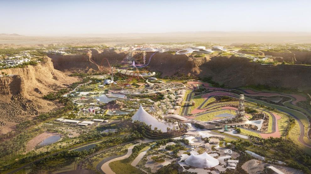 El circuito de Qiddiya formará parte de una megaciudad de ocio, cerca de Riyadh.
