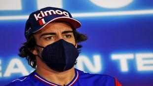 Fernando Alonso, en Bahréin.