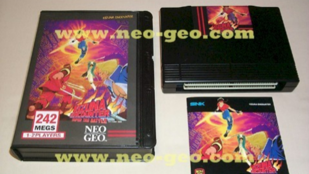 Kizuna Encounter. versión PAL para Neo Geo