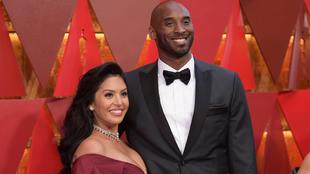 Vanessa Bryatnt con su marido Kobe en una imagen de archivo