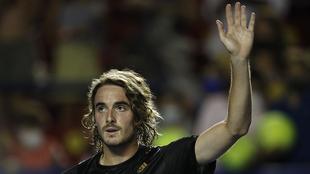 Tsitsipas se mantiene como favorito en el Abierto Mexicano de Tenis.