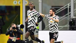 El francés Paul Pogba marcó el tanto decisivo con el que el United...