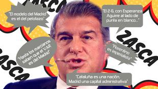 Laporta y sus zarpazos al Madrid
