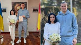 Andriy Lunin se casa... en chándal