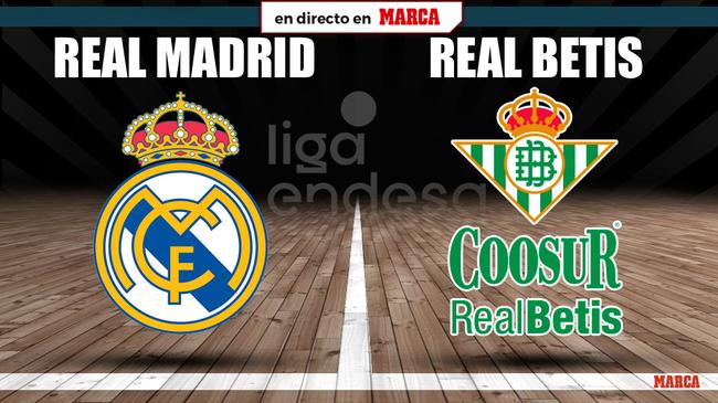 Real Madrid - Real Betis en directo