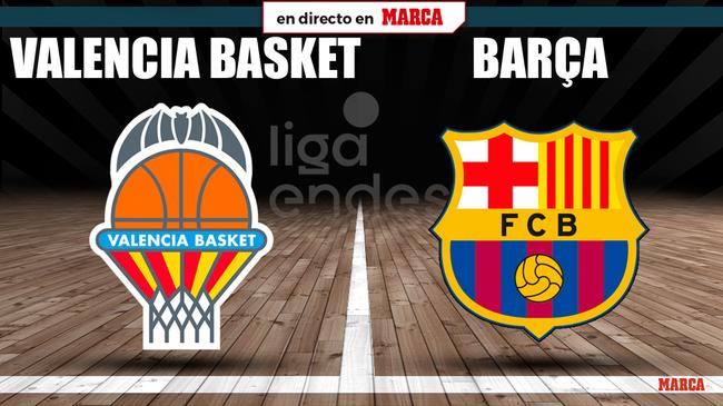 Valencia Basket - Barcelona en directo