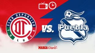 Toluca vs Puebla: Horario y dónde ver