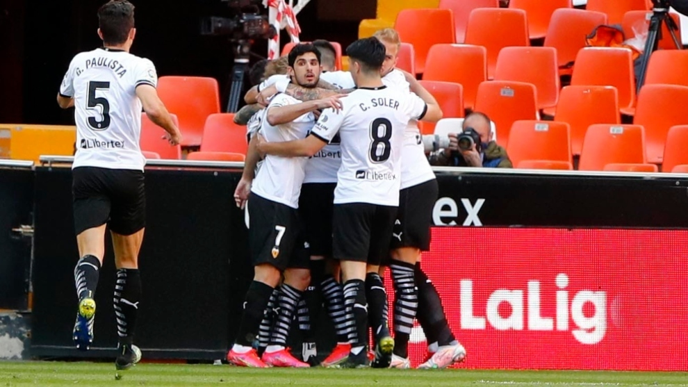 El Valencia se refugia en Mestalla
