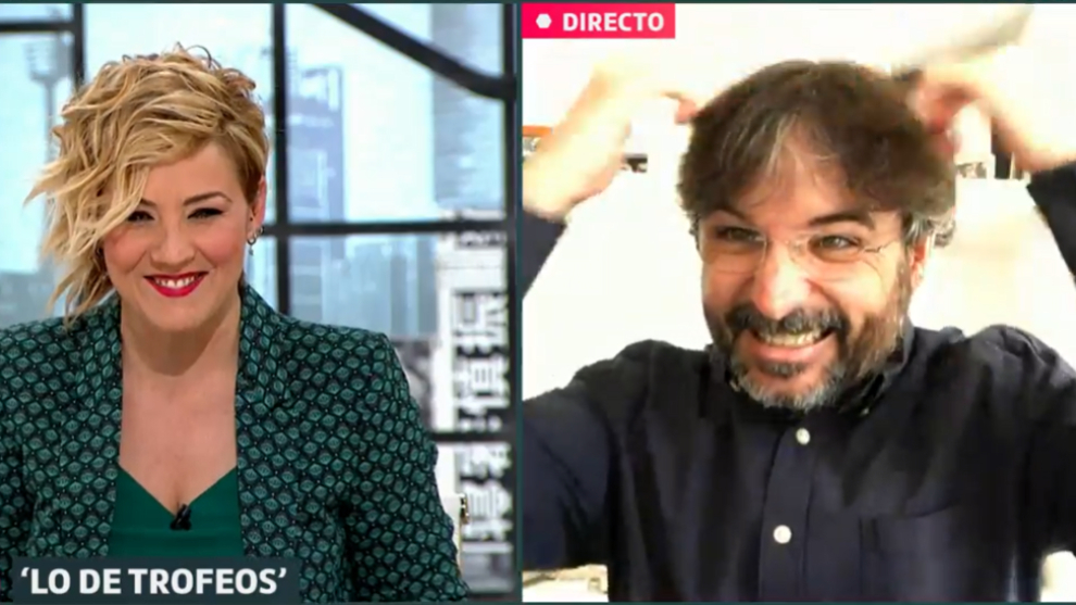 Cristina Pardo -  Jordi Evole - Liarla Pardo - Lo de Evole