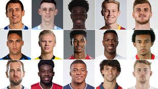 El 'top 25' de jugadores según su valor en el mercado: Mbappé, fuera del 'top 3'