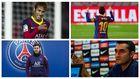 Neymar, Messi, Pochetitno y Valverde