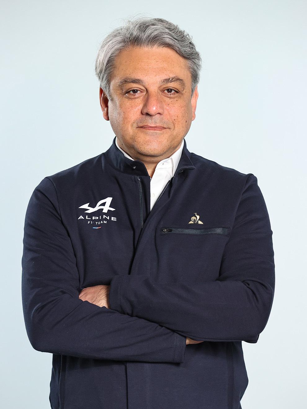 Luca De Meo Alpine