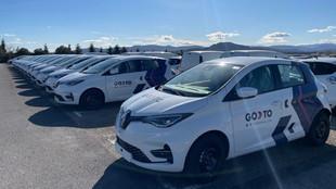 La flota de GoTo Global en Madrid está compuesta por un número...