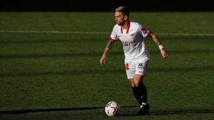 Papu Gómez, en un partido del Sevilla.