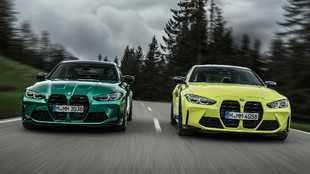 Los BMW M3 y M4 Competition son para amantes de los coches deportivos.
