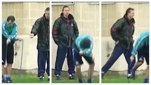 Hace 5 años que Cruyff murió, pero hoy le recordamos riendo y 'ridiculizando' a Stoichkov