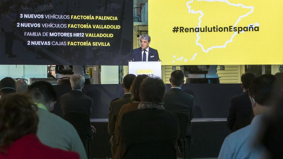 El consejero delegado del Grupo Renault, Luca de Meo.