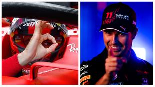 Carlos Sainz y Chero Perez F1 Bahrein