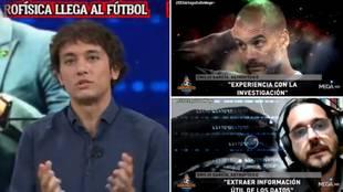 El astrofísico de 'El Chiringuito' explica los motivos por los que Guardiola ha contratado uno