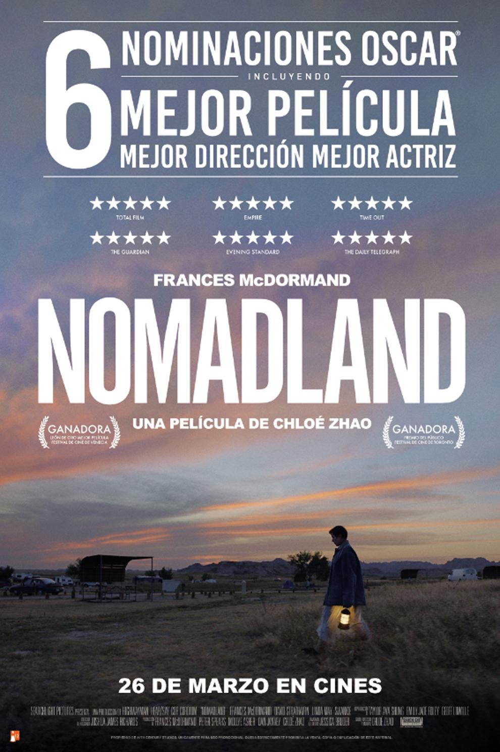 Nomadland: 'Nomadland': fecha de estreno, tráiler, reparto, detalles y  curiosidades de la película favorita de los Óscar 2021 | Marca