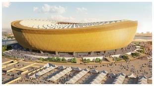 El Lusail, estadio que albergará la inaguración y la final del...
