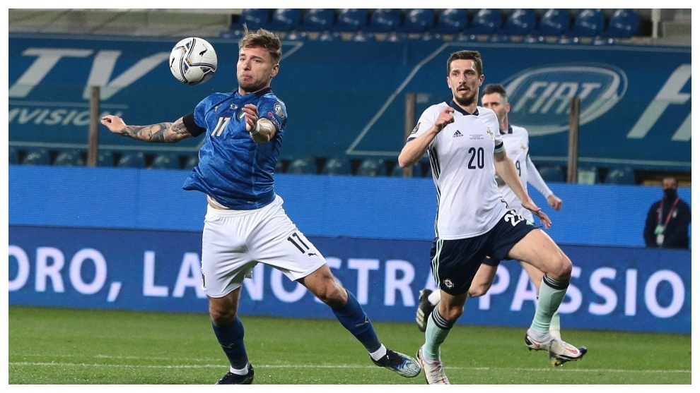 Strong first half sees Italy past Northern Ireland
