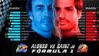 Sainz, más simpático que Alonso