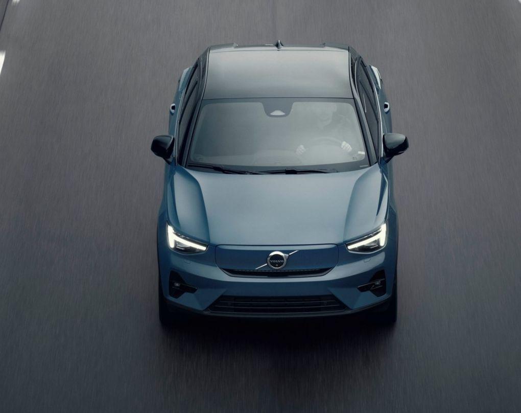 El C40 totalmente eléctrico, con retoque crossover que seguirá al XC40.