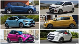 Dacia Sandero, Kia Picanto, Renault Clio, Mitsubishi Space Star,...