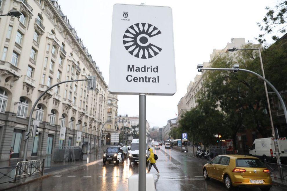 Anuladas multas de Madrid Central
