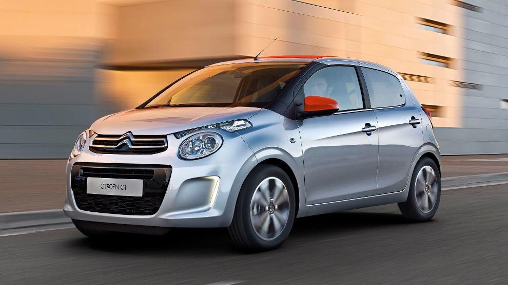 Citroën C1, urbano y eficiente para el día a día.