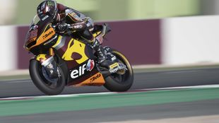 Sam Lowes, en Losail.