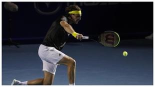 El griego Tsitsipas sigue adelante en el Miami Open.