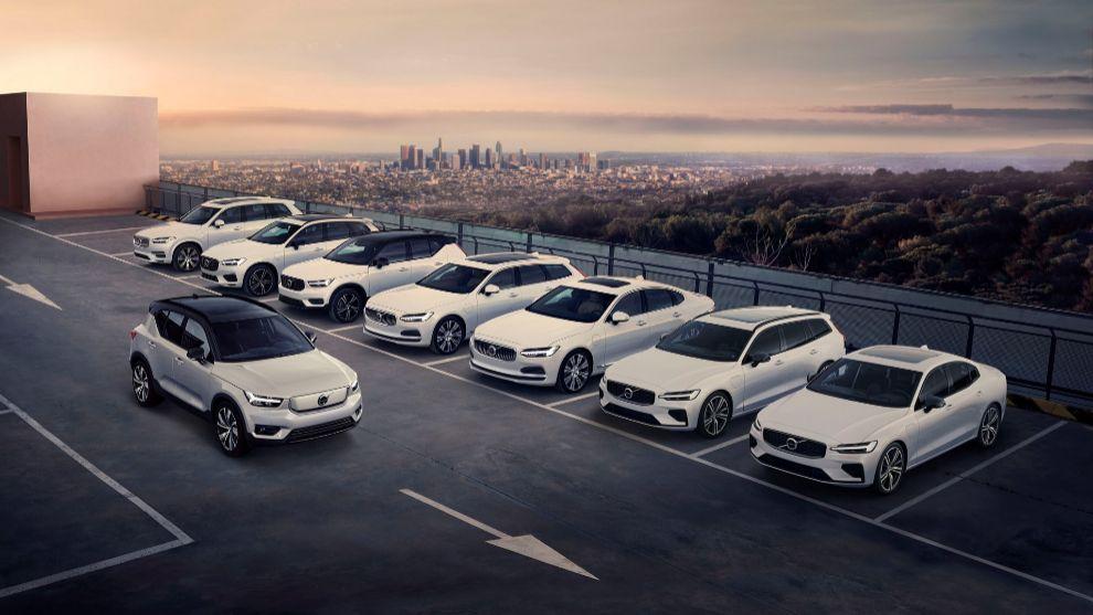 Los ocho modelos enchufables de Volvo camino de su total electrificación.