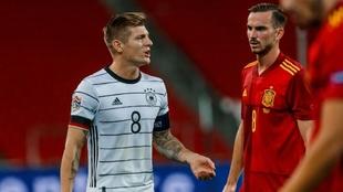 Toni Kroos, durante un partido de Alemania ante España.
