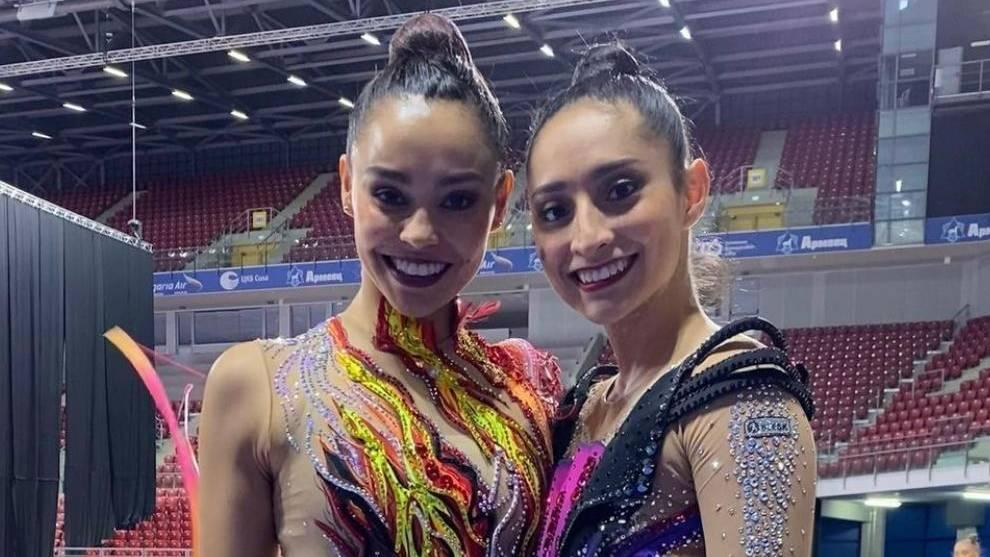 Rut Castillo y Karla Díaz compitieron en individual