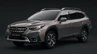 El nuevo Subaru Outback tiene un aspecto más campero.