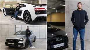 Te enseñamos los Audi que han elegido los jugadores de basket del...