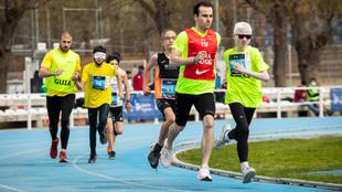 Atletas en el Campeonato Liberty de Promesas Paralímpicas Toledo...