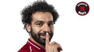 Mohamed Salah atiende a MARCA en entrevista exclusiva