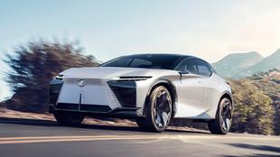 El Lexus LF-Z Electrified adelanta el nuevo lenguaje de diseño de...