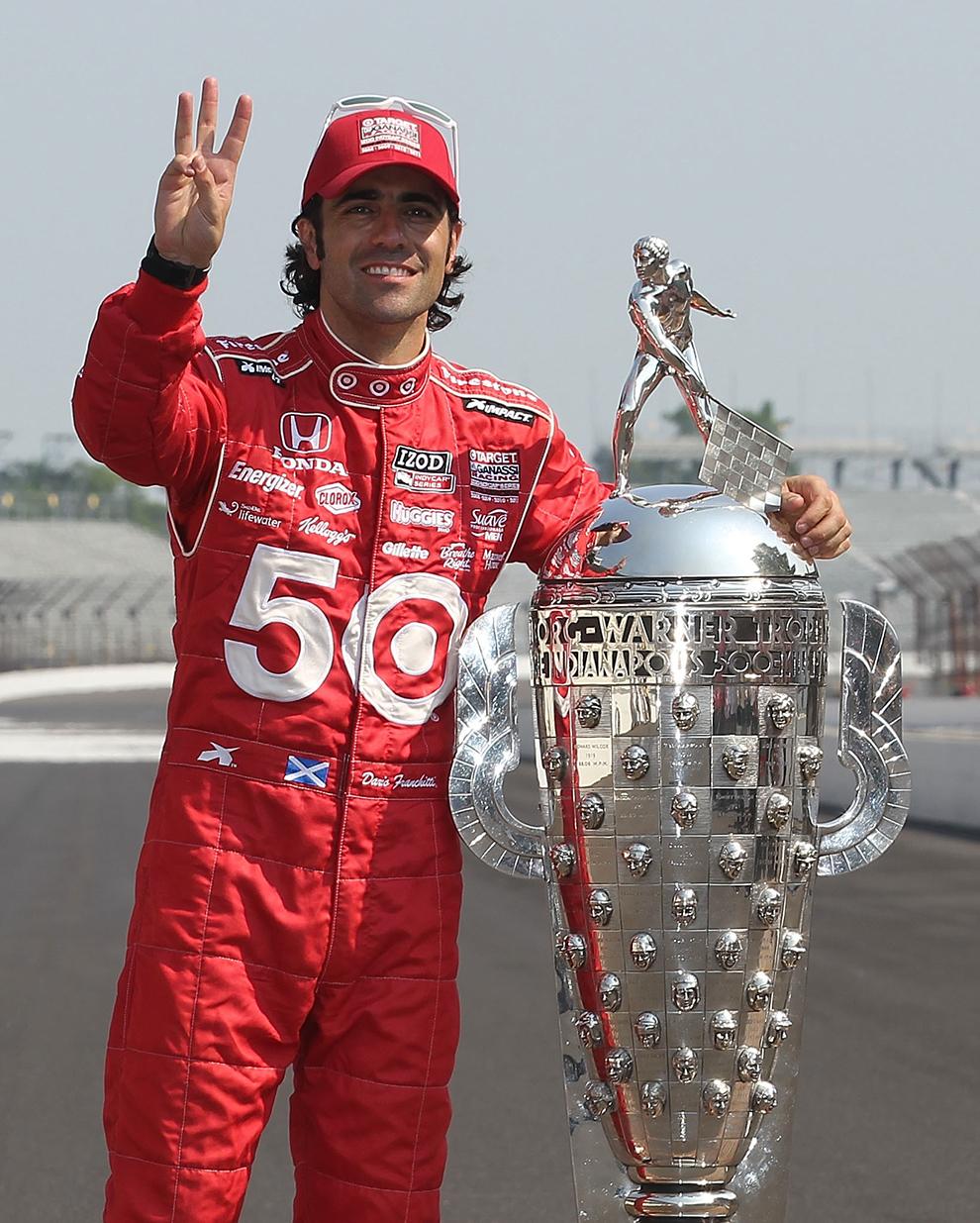 Dario Franchitti Indy 500