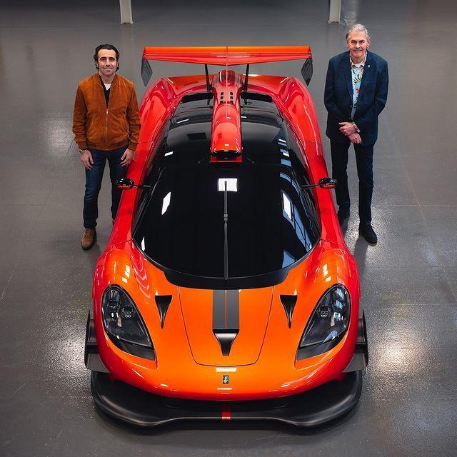 Dario Franchitti, Gordon Murray y el T50